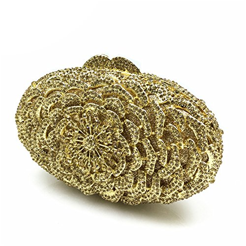 Icegrey - Cartera de mano para mujer dorado