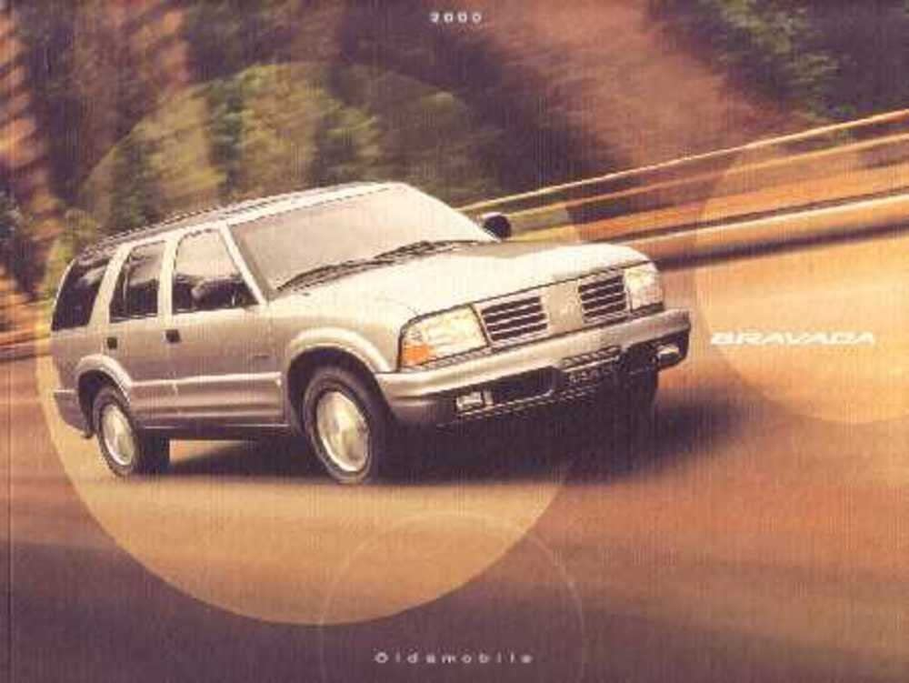 amazon com 2000 oldsmobile bravada sales brochure literature book piece advertisement specs automotive 2000 oldsmobile bravada sales brochure literature book piece advertisement specs