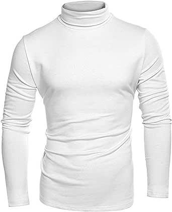 Camiseta de polo de golf para hombre, de algodón grueso, 300 g/m², cuello acanalado, para invierno, color blanco: Amazon.es: Ropa y accesorios