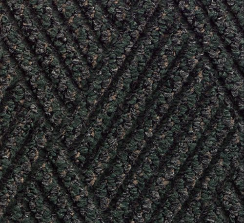 (Andersen 296 Waterhog DiamondCord Polypropylene Fiber Interior/Scraper Wiper Floor Mat, SBR Rubber Backing, 12' Length x 6' Width, 3/8