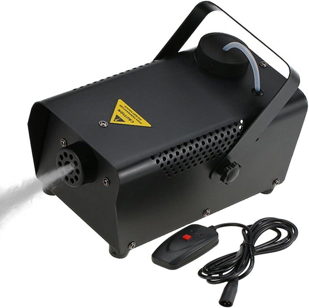 Tomshine Máquina de Niebla, con Cable Control Remoto 400W Máquina del Humo para Halloween Función de la Boda Casa Fiesta Club Pub Holiday