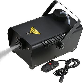 Tomshine 400W Nebelmaschine,Rauchmaschine mit Draht-Fernbedienung ...