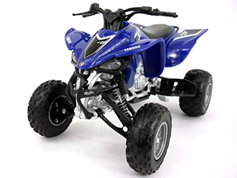 amazon com yamaha yfz 450 atv quad bike 1 12 scale diecast metal