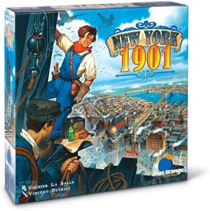 Game bandit purple pawn blue orange new york 1901 board game fandeluxe Gallery