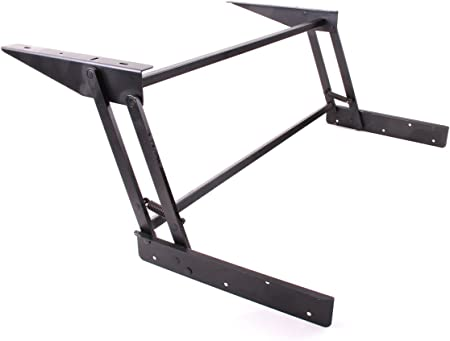 Amazon Com Eclv Lift Up Top Large Coffee Table Diy Hardware