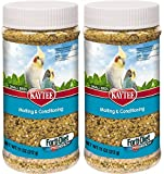 (2 Pack) Kaytee Forti-Diet Pro Health Molting & Conditioning Supplement for Small Birds, 11 Ounces Per Pack