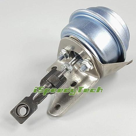 Amazon.com: Ispeedytech Turbo Actuator Wastegate GT1749V 713672 For For VW Beetle Jetta Golf Bora 1.9TDI Garrett GT1749V Turbo Wastegate Vacuum Actuator: ...