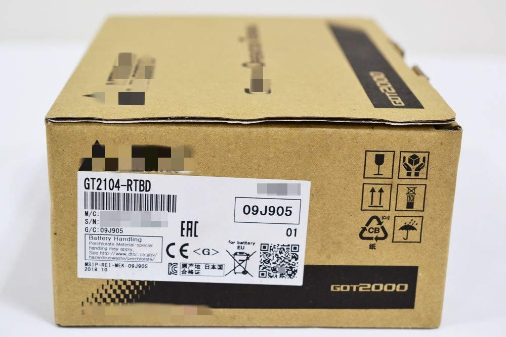 格安人気 (修理交換用 )適用する 三菱電機 三菱電機 表示器 GOT2000 GT2104-RTBD GT2104-RTBD GOT2000 B07L2SBZ7J, 田富町:a843837e --- a0267596.xsph.ru