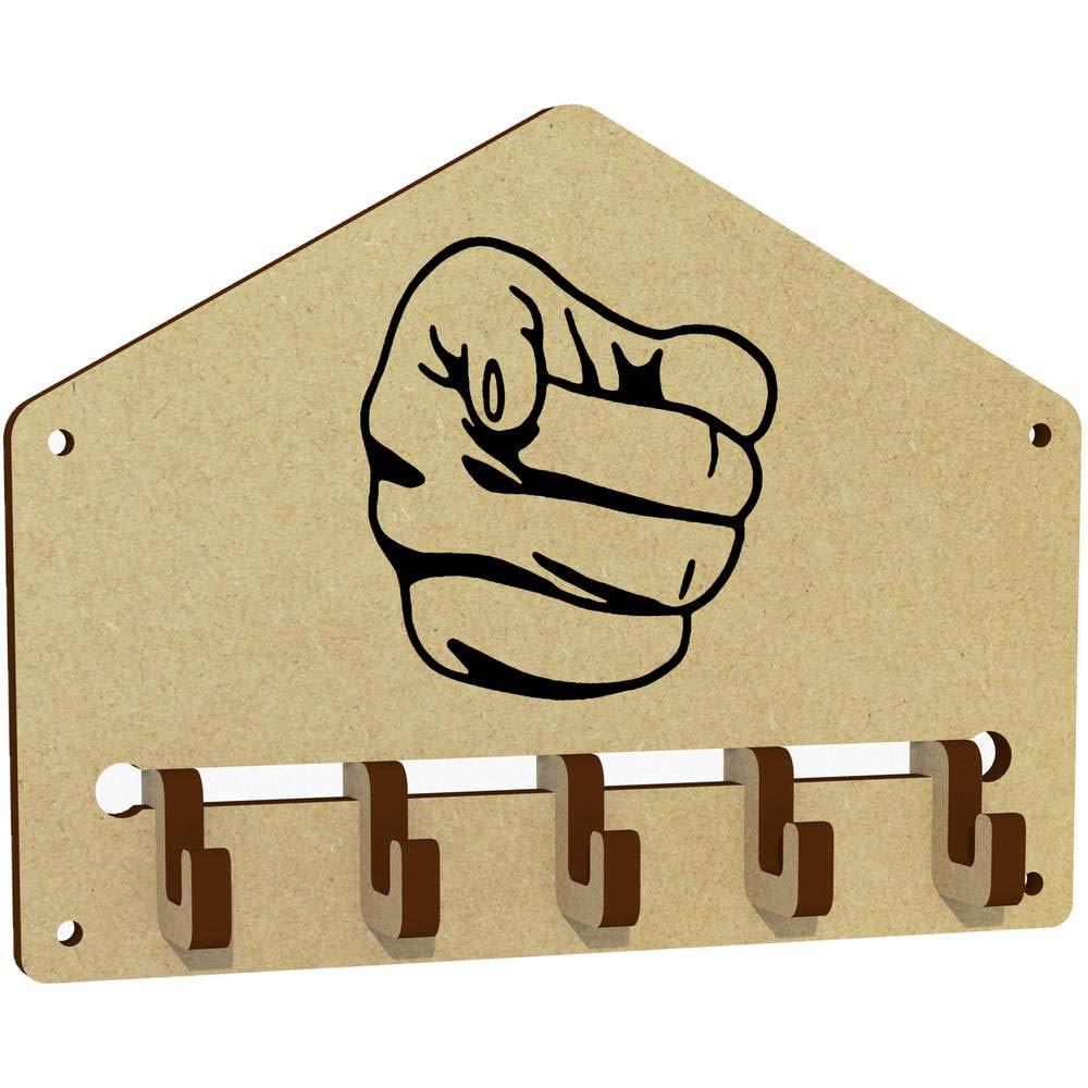 WH00033507 Halter Zeigender Finger An der Wand befestigter Schlüsselhaken