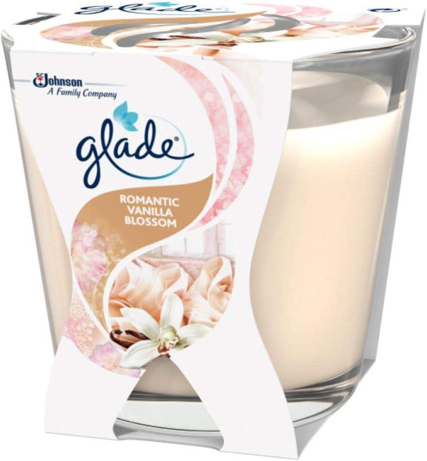 6er Pack Brise D/écor Duftkerze im Glas Apfel /& Zimt Apple /& Cinnamon bis zu 23 Stunden Brenndauer Glade 6 x 70 g
