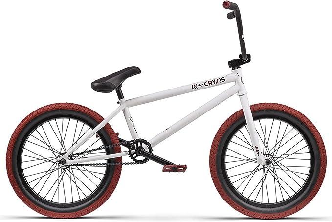 Bicicleta Wethepeople &Laquo;Crysis&Raquo; 2016&Nbsp;Bmx&Nbsp;Blanco Mate, de 20,5 Pulgadas: Amazon.es: Deportes y aire libre