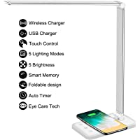 Deals on Afrog Multifunctional LED Desk Lamp w/Wireless Charger