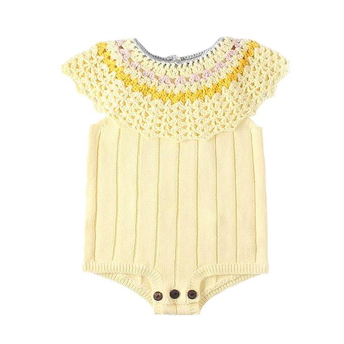 Bratyeessi Baby Girls Rompers Kids Autumn Spring Jumpsuit Cute Newborn Baby Clothes Knitted Bodysuit 0-12 Months