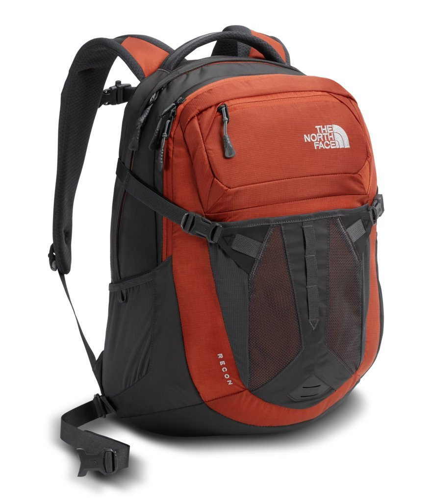 The North Face Recon Backpack - Ketchup Red & Asphalt Grey - OS (Past Season)