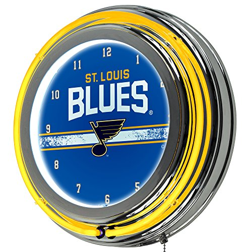 Trademark Gameroom NHL St. Louis Blues Chrome Double Rung Neon ()
