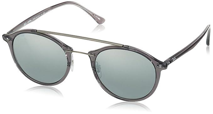 Ray-Ban RB4266 Sonnenbrille Grau Transparent 620088 49mm W33SZZ