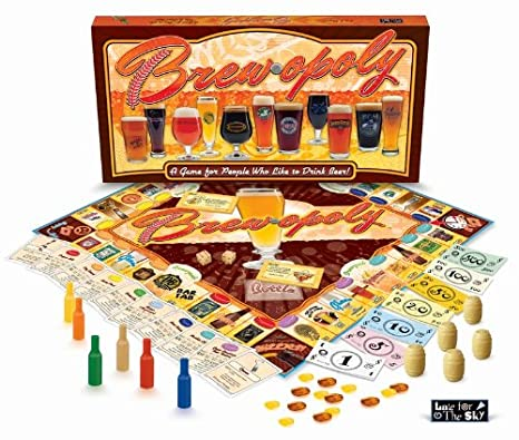 Beer monopoly drinking game amazon