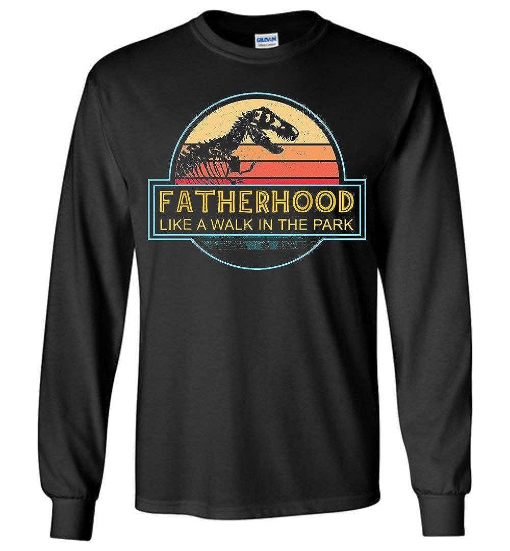 Vintage Fatherhood Like A Walk In The Park Shirts