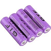 18650 oplaadbare batterijen, hoge capaciteit 9800 mAh 3,7 V Li-ion batterij voor zonne-verlichting, lichtsnoeren…