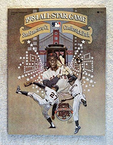 1984 Baseball All-Star Game - Official Program - San Francisco - Candlestick Park 1984 Baseball All Star Game