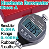 Shore A Durometer Scale Digital Hardness Tester FOR rubber,leather and wax