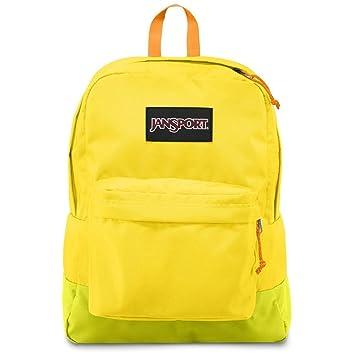Amazon.com: Jansport Superbreak Black Label Backpack- Yellow Card ...