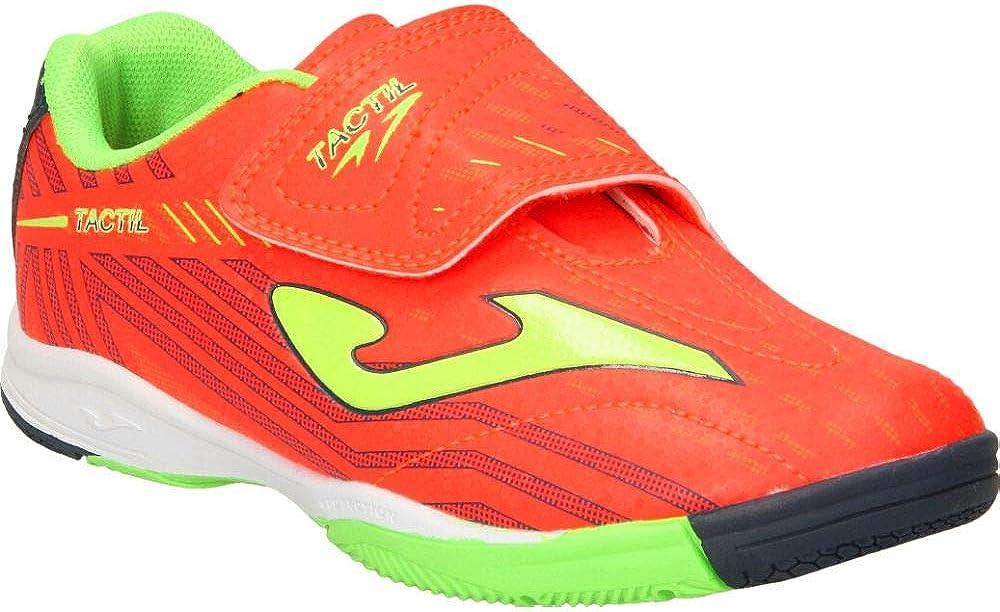 Joma Tactil Enfant Scratch Orange-Yellow Chaussure de Futsal