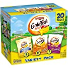 Pepperidge Farm Goldfish Baked Snack Crackers Variety Pack, 20 count, 19.5 oz (Pack of 2)