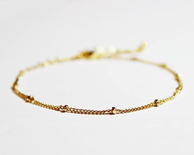 021bbcca7 Image Unavailable. Image not available for. Color: Gold Plated or Gold  Filled Stacking Bracelet ...