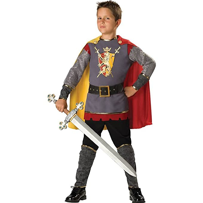 amazoncom incharacter costumes llc boys 2 7 loyal knight tunic set clothing