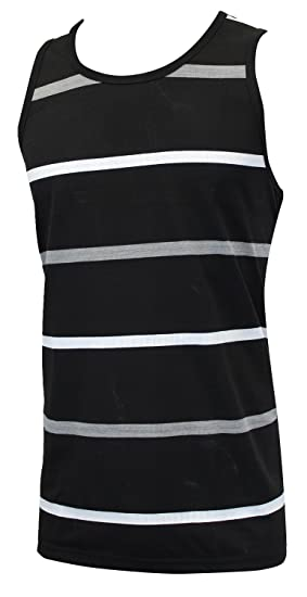 133c58945df Enimay Men s Summer Beach Tank Top Gym Athletic Shirt SleevelessClose Out  Sale Black Grey White Small