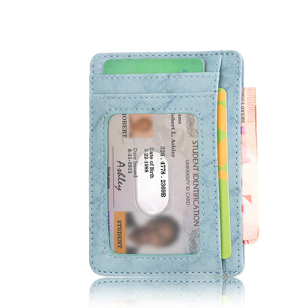 Slim Wallet BLGoods RFID Security Mini Card Holder Anti-wear Card Packag