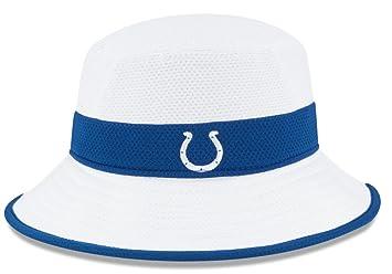 Indianapolis Colts New Era NFL 2015 Training Camp Sideline Bucket Hat -  White 17f4b43086f1