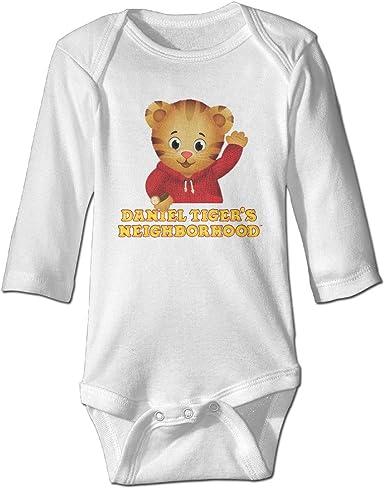 Daniel Tiger Cute Baby Boy Girl Long Sleeve Jumpsuits Cotton