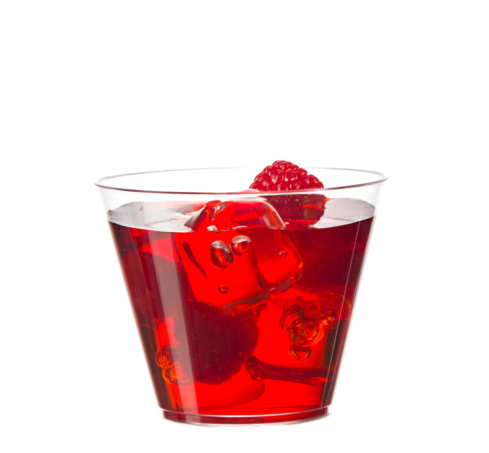 [500 Tumblers] Embellish Crystal Clear Disposable Hard Plastic 9 Oz Old Fashion Style, Fancy Cups, Great For Wine, Cocktail, Or Any Beverage, Wedding, Catering, Parties, Buffets, Events, 25 Packs by Embellish