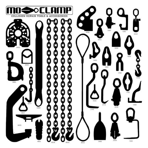 Mo-Clamp MOC5013 30 Piece Deluxe Tool Board (with Tools)