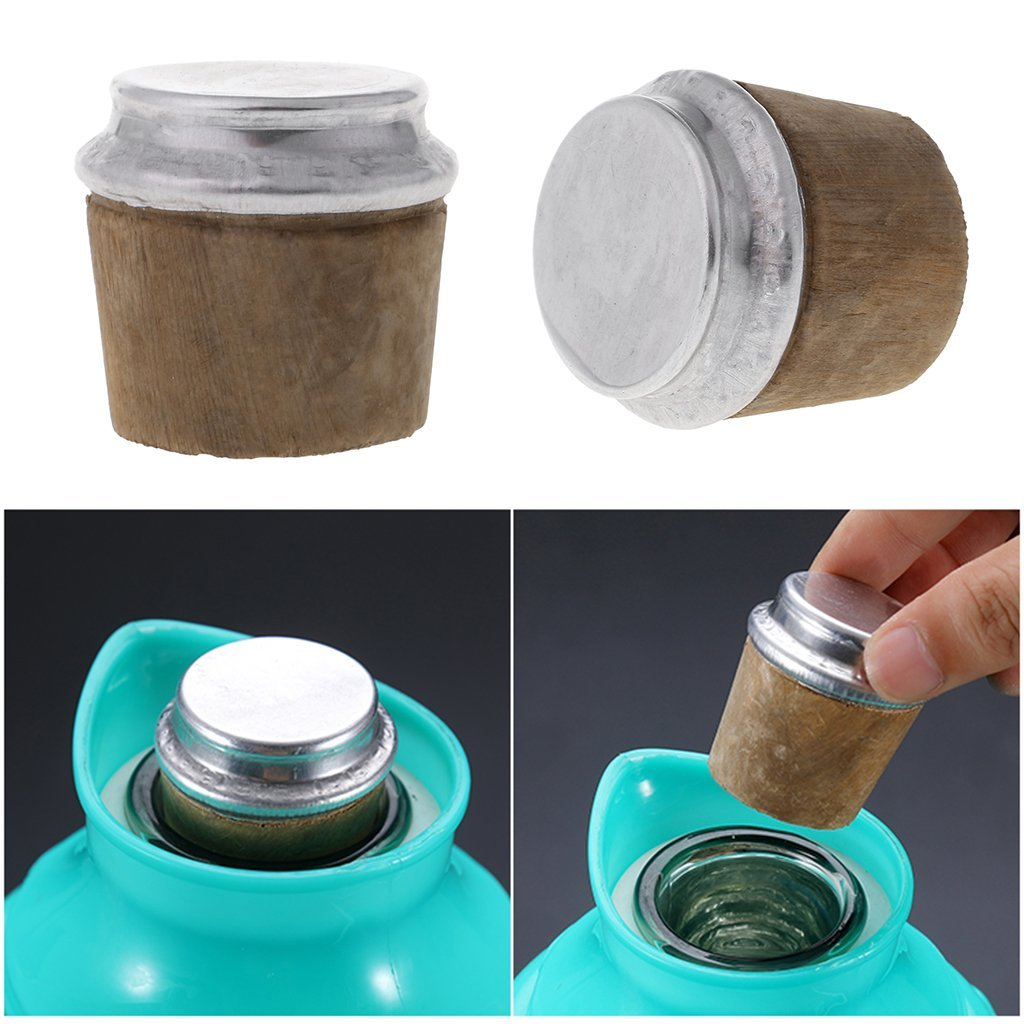Yangxiyan 40mm Wood Thermos Bottle Cork Bottom Kettle Stopper