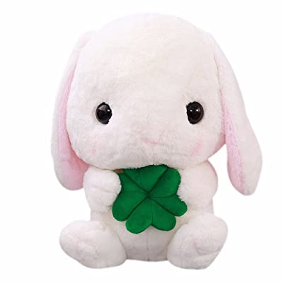 Jonerytime_Toys,Baby Toy Rabbit Plush Stuffed Animal 9 Inches Limited Edition (White): Clothing