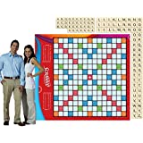 6 ft. Life-Sized Scrabble Board Game Set Standup Photo Booth Prop Background Backdrop Party Decoration Decor Scene Setter Cardboard Cutout