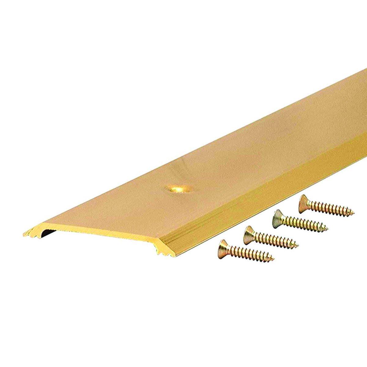 Flat Top 2-1/2'' Wide Aluminum Saddle Door Threshold - #99023