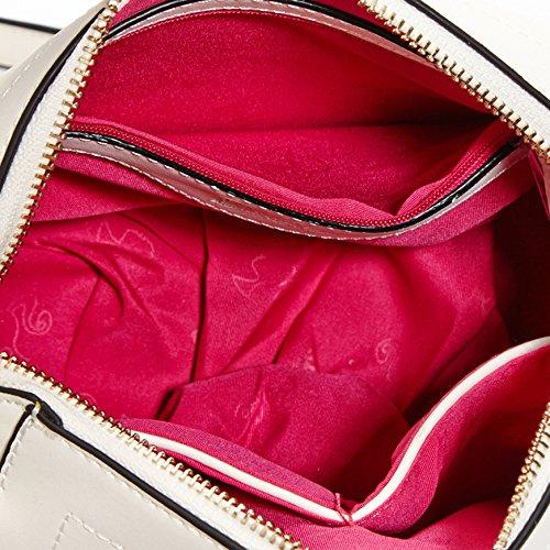 Barbie BBFB099 Bolsos Mujeres de Princesa Casual de cuero de PU rosa oscura