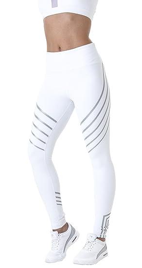 Achat/Vente ramasser juste prix Morbuy Pantalon de Yoga, Femmes Legging de Sport Pantalons Beau Motif  Elastiques de Yoga Pantalons Fitness Gym Leggings élastiques (S, Blanc)