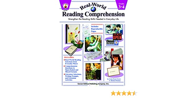 Real World Reading Comprehension For Grades 3-4: 9780887249464 ...