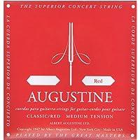 Augustine Cuerdas Para Guitarra Clasica Cuerda Suelta Re4 Etiqueta Roja