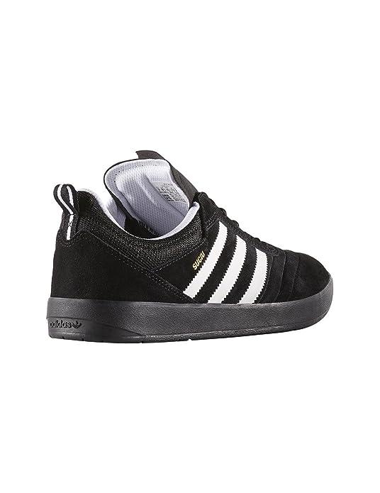 adidas Suciu ADV, Chaussures de Skateboard Homme, Multicolore-Noir/Blanc/Doré (Negbas/Ftwbla/Dormet), 46 EU