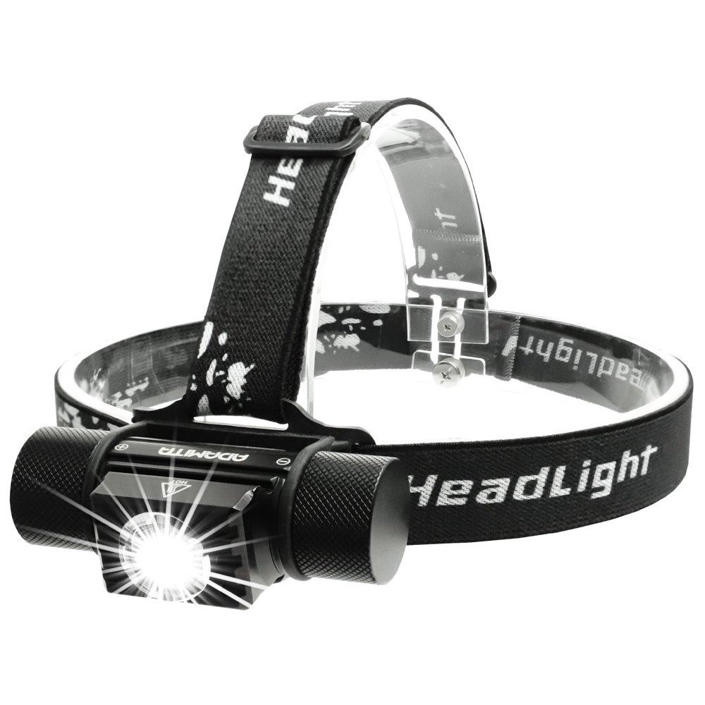 ADAMITA USB aufladbare LED Fahrradlicht Frontlichter und Rücklichter 5 Modi Beleuchtung Rücklicht Fahrradlicht einfach zu installieren Sicherheit 500 Lumen wasserdichte Fahrrad Scheinwerfer