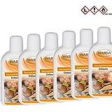 Saunaduftkonzentrat Set 6 x 200 ml + Proben (20 ml Saunaduft-Mentholkristalle-Saunasalz) - Saunaaufguss Saunaduft Aromaduft Sauna-duft-konzentrat