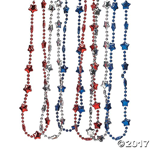 Rhode Island Novelty Patriotic Necklaces