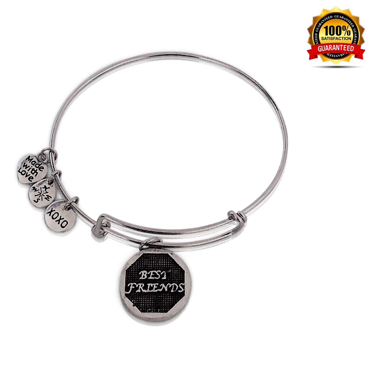 Supersonic Expandable Wire Bangle Bracelet 25 Best Friend