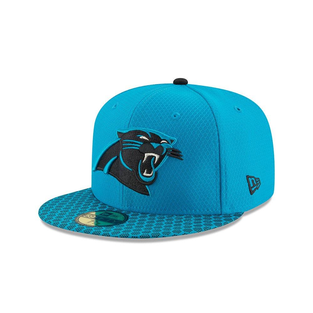 ニューエラ (New Era) 59フィフティ キャップ - NFL サイドライン 2017 カロライナパンサーズ (Carolina Panthers) 7 1/4 (57.7cm)   B0747LQPDH